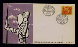 Portugal Historic Congress Medieval Braga Militaria Coat Of Arms Brasons Sp5768A - Enveloppes