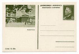 YUGOSLAVIA, SERBIA, SUBOTICA, 10 DINARA, TITO, POSTAL STATIONERY, NOT USED - Serbia