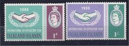 Falklands1965: Michel151-2 UNO Cat.Value13Euros - Falkland Islands