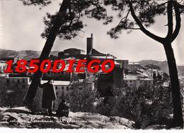 CASTIGLION FIORENTINO - PANORAMA INVERNALE F/GRANDE VIAGGIATA 1955 ANIMAZIONE - Arezzo