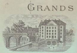 Facture + Traite 1893 / Jules BOISSON / Grands Moulins à Cylindres De Dôle / 39 Jura - France