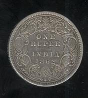 1 Roupie Inde / India 1862 TTB+ - India