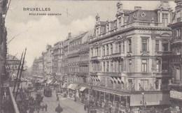 Brussel, Bruxelles, Boulevard Anspach, Tram, Tramway (pk58628) - Lanen, Boulevards