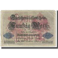 Billet, Allemagne, 50 Mark, 1914, 1914-08-05, KM:49b, TB - [ 1] …-1871 : Estados Alemanes