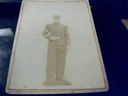 Militaria Photographie Ancienne D Un Gendarme A Identifier - Police
