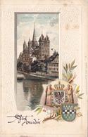 729/ Limburg A/ Lahn, Der Dom, Litho, Wapen, Relief, 1904 - Limburg