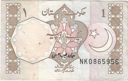 Pakistán 1 Rupee 1983 Pk 27 M Firma Mian Tayeb Hasan, Serie Abajo A Derecha Ref 1916 - Pakistán