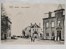 RARE. Arlon. Rue De Mersch. Ecrit Merch ! Animée. Café De La Promenade - Aarlen