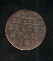 12 Heller Ville Libre D' Aix La Chapelle 1794 / Stadt Achen ( Lot 2 ) - Other