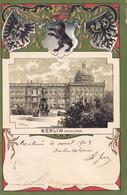730/ Litho, Berlin ( Schloss) 1903, Wapen, Relief - Mitte