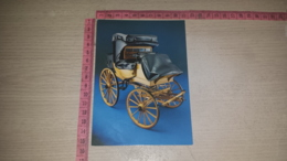 C-72010 CARROZZA CALESSE 1871 MODELLI PRESSO IL BUNDESPOSTMUSEUM FRANKFURT AM MAIN - Cartoline