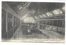 REIMS - La Grande Guerre 1914-15 - Aspect De L'intérieur Du Grand Gymnase Du Collège D'Athlètes - Reims
