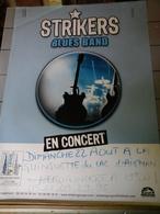 Affiche - Strikers Blues Band En Concert - Affiches & Posters