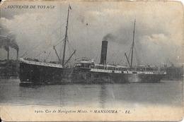 CPA-1920-PAQUEBOT-MANSOURA-CIE  NAVIGATION MIXTE--BE - Paquebots
