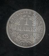 1 Mark Allemagne / Germany 1881 F - TTB - [ 2] 1871-1918: Deutsches Kaiserreich