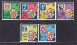 COMORES N° 245 à 248, AERIENS 155 & 156 ** MNH Neufs Sans Charnière D8889) Sir Rowland Hill-1978 - Comores (1975-...)