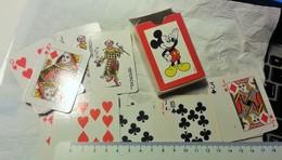 CARTE DA GIOCO. WALT DISNEY. TOPOLINO.  JOLLY. DISNEY. JOKER. - 54 Cards