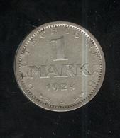 1 Mark Allemagne / Germany 1924 A - TTB+ - [ 2] 1871-1918: Deutsches Kaiserreich