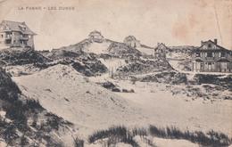 De Panne La Panne Les Dunes (Service Militaire Belge S.M.B. ) - De Panne