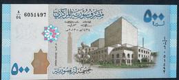SYRIA P115 500 Pounds 2013 #A/04 UNC - Syria