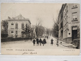 Arlon. Avenue De La Station. Animée. Enfants - Aarlen