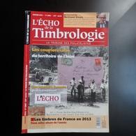 L'Echo De La TIMBROLOGIE    N° 1880      Janvier  2014    Courriers Rares De L'ININI - Magazines
