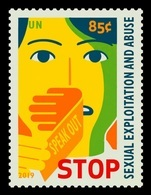 United Nations (New York) 2019 Mih. 1705 Stop Sexual Exploitation And Abuse MNH ** - New York – UN Headquarters