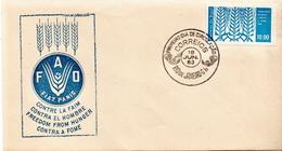 Brazil Stamp On FDC - Food