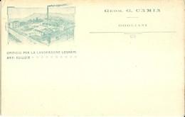 """3214""""OPIFICIO PER LA LAVORAZIONE LEGNAMI ARTI EDILIZIE-GEOM. G. CAMIA-DOGLIANI """"ORIGINALE - Visiting Cards"""