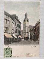 Arlon. L'Eglise. Fabrique De Clous Destrée-Defoin - Aarlen