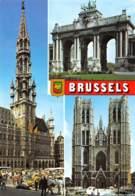 CPM - BRUSSELS - Multi-vues, Vues Panoramiques
