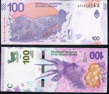 ARGENTINA NLP 100 Pesos 2018 Serie A UNC - Argentine
