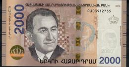 ARMENIA NLP 2000 Dram 2018 UNC - Armenia