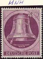 Germany Berlin 1951 40pf  Lot4 - Ungebraucht