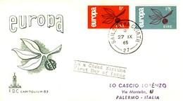 *IRLANDA - 1965 - Europa Su FDC. - FDC