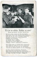 Es Ist So Schön, Soldat Zu Sein - Militaires Chantant  - Voir Scan - Guerra 1939-45
