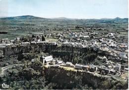12 - BOZOULS : Vue Générale Aérienne - CPSM GF (courrier Adressé à Michez JAZY Coureur De Demi-fond) Aveyron - Bozouls