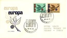 LUSSEMBURGO - 1965 - Europa Su FDC. - FDC