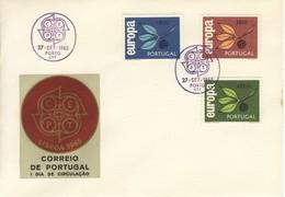 FDC FIRST DAY COVER 27-9-1965 PORTOGALLO EUROPA CORREIO DE PORTUGAL.+2 - FDC
