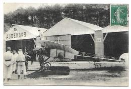 """ROUEN - Grande Semaine D'Aviation - """"Cattaneo"""" Sortant Du Hangar - Rouen"""