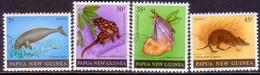 PAPUA NEW GUINEA 1980 SG #397-400 Compl.set Used Mammals - Papua New Guinea