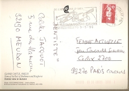 France & Marcofilia,  Glamis Castle,  Angus, Vélizy Villacoublay, Paris 1996 (1518) - France