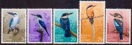 PAPUA NEW GUINEA 1981 SG #401-05 Compl.set Used Kingfishers - Papua New Guinea