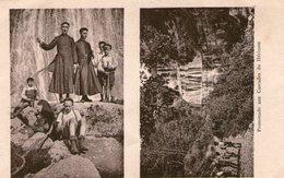 (Jura)  CPA  Promenade Aux Cascades Du Herisson  Souvenir De Colonie 1936   ( Bon Etat) - Autres Communes