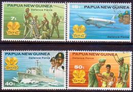 PAPUA NEW GUINEA 1981 SG #408-11 Compl.set Used Defence Force - Papua New Guinea