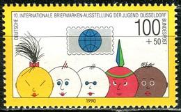 BRD - Mi 1472 Aus  Block 21 - ** Postfrisch (A) - 100+50Pf    Briefmarkenausstellung Der Jugend 90 - [7] Repubblica Federale