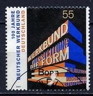 Allemagne Fédérale - Germany - Deutschland 2007 Y&T N°2448 - Michel N°2625 (o) - 55c Confédération Du Travail - [7] République Fédérale