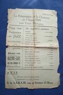 40 60 RECUEIL POPULAIRE RUE LUIS MARIANO 1949 PARTITION BELGIQUE BRUXELLES GUETARY HELIAN PIAF MARGY GODET VOIR DÉTAILS - Autres