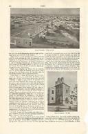 LAMINA ESPASA 32611: Vista De Faro, Portugal - Otras Colecciones