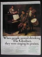 GLENLIVET SINGLE MALT WHISKY. ORIGINAL 1974 MAGAZINE ADVERT - Sonstige